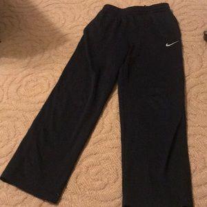 Nike Bottoms - Boys Nike black sweatpants